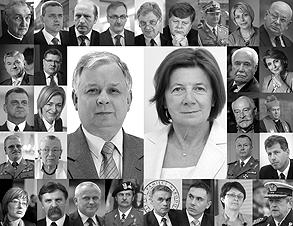 ofiary katastrofy lotniczej w Smolensku